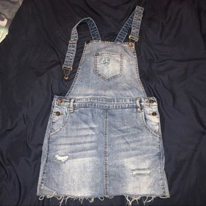 "Dresses & Skirts - Jean ""Overall"" dress!"
